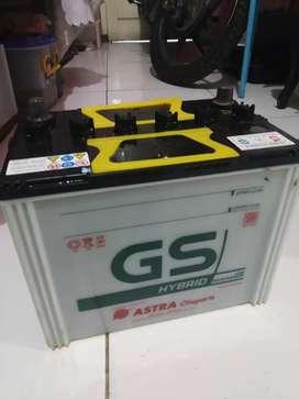 Aki GS NS70 msh 80 persen