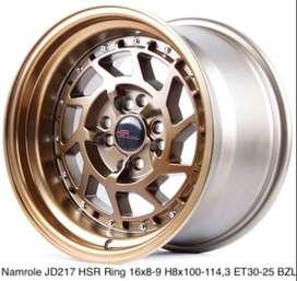 Velg Celong HSR R16 H4x100 Bisa Buat Mobil Honda Brio Ignis Dll