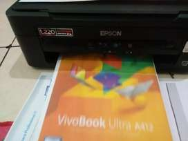 Printer epson l220 scan+copy+print+modif original pabrik