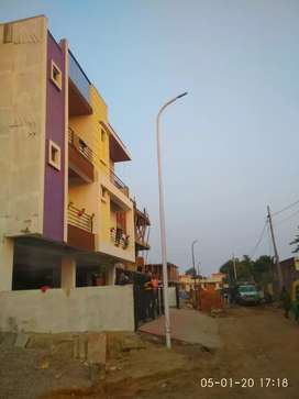 Front 3bhk with big hall in mansarovar ext.
