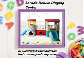 Sewa Rental Lerado Playground Rumah Perosotan Playground Bekas Second