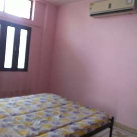 fridge,microwave,gascylinder&doublebed in bothroom & ac sofa available