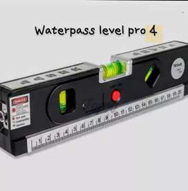 Waterpass laser + meteran