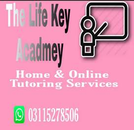 Home & Online Tutoring Services