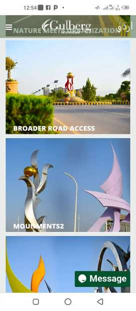 Commercial Plots for sale in Gulberg Islamabad