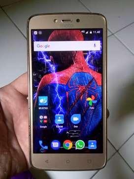 Motorola c plus(nougat) nyari kembalian dari hape biasa buat tlp/sms