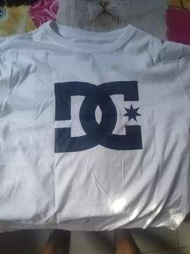 Kaos DC ori warna putih