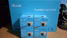 Promo 4 CAM CCTV HD HILOOK (Gratis Pasang) murah brgaransi SEJABOTABEK