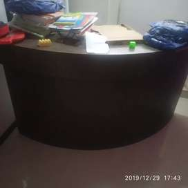 Reception counter for sell unused