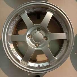 Jual velg mobil baleno R15x7 pcd4x100 tipe ssr bisa yaris, sigra,calya