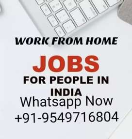Part time home based mobile and typing work with daily payment