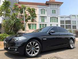 BMW 520i Luxury 2017 New Profile Black Speedodigital PBD BRI-Wrnty5Thn