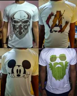 Printed T-shirts at Rs.120 Only (LOCKDOWN OFFER)