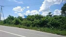 Tanah Pinggir Jalan Raya (Poros)