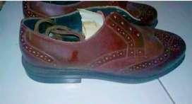 Sepatu Eksmud Model Lancip, Seperti Baru, Kuat Banget, Ga pernah dpake