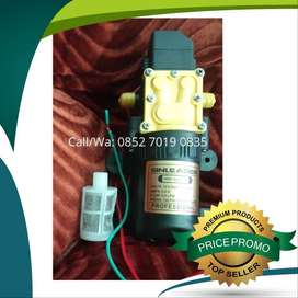 Dinamo Pompa Air DC 12 V - Sprayer Water Pump - Untuk Cuci Kendaraan,