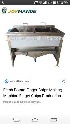 Finger chips machine new condition
