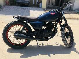 suzuki gs150 rawalpindi nmbr very good condition full modifide