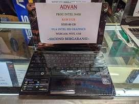 Netbook Advan Vanbook Intel N450 Ram 2GB Hdd 80GB Layar 10inch Garansi