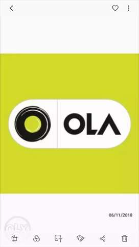 Driver job vacancy is available for ola. BADGE MUST HAVE..