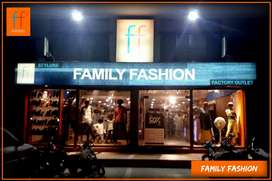 Required experienced Salesman for Garments Outlet