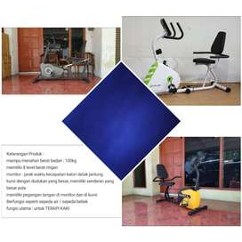 Jual Sepeda Statis Magnetik Recumbent // ( Treadmill // Home Gym )