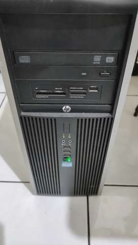 lpc komputer desktop i5 ram 8gb merk hp monitor merk lg 22 inch   1ap