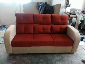 Cloth sofa with warranty