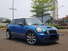 mini cooper 1.6 S turbo 2012 biru good condition