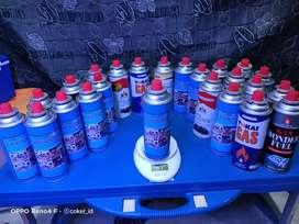 isi ulang gas kaleng kompor portable