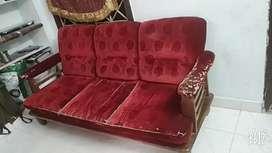4+2 teakwood sofa set