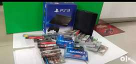Ps3 Console brand new condition  with games Controllers