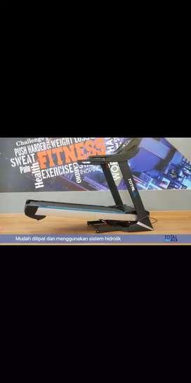 Treadmill Elektrik TL 199 Semi Commersial Fitur Lengkap Bisa COD