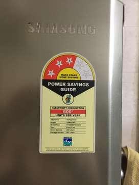 Brand new Samsung double door fridge grey colour
