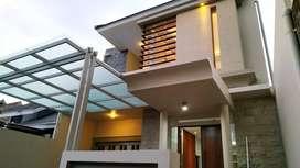 Rumah baru 2 lantai dalam perumahan di jl palagan