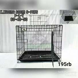 Kandang kucing ukuran 60cm