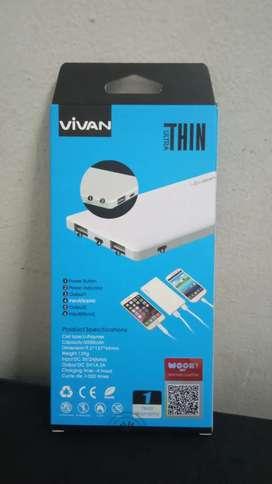 Jual Power Bank VIVAN 5000 MAH