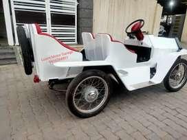 Battery Vintage Wedding Car