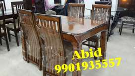 Latest design teak wood dining table branded four chairs unique j 10