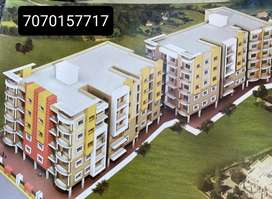3 BHK flat with parking @ 23 lacs