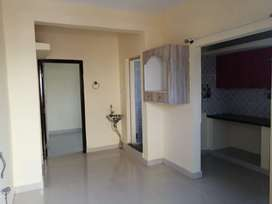 Newly built 1 BHK, semi furnished house with 24