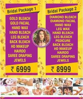 Bridal and pre bridal services