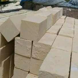 Material bangunan murah batupondasi kumbong kombo umpak bataputih
