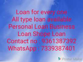 All type loan available