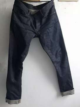 Celana Jeans Uniqlo Selvedge Denim