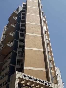 1 Bhk flat for rent in fortune spring sector 34 kharghar navi Mumbai