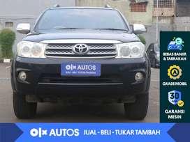 [OLX Autos] Toyota Fortuner 2.5 G Diesel Solar A/T 2011 Hitam