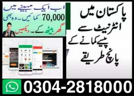 Jobs in Pakistan (Part Time, Full time and Home Based Online Job)