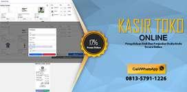 Aplikasi Pengelolaan Kasir Toko Online Super Mudah