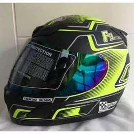 JPN Helm Motor Full Face Sni Pria Dewasa Murah F3